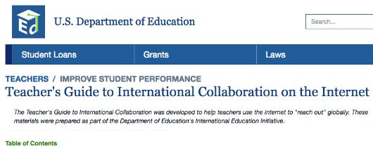 11 2000 Us Department Of Educations International Education Initiative