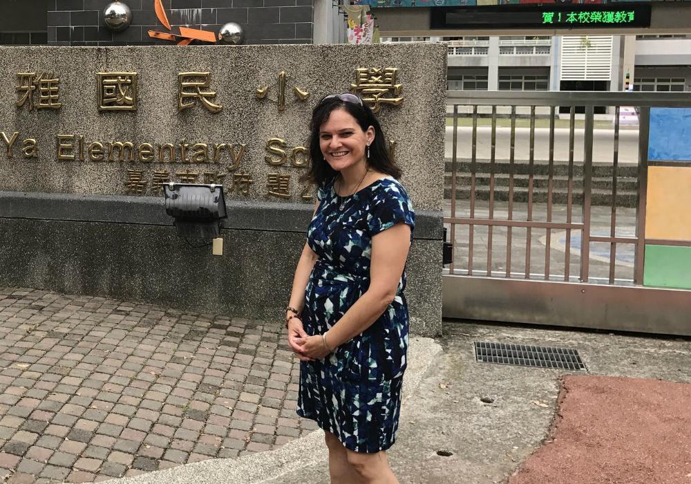 Tonya on a visit to Taiwan