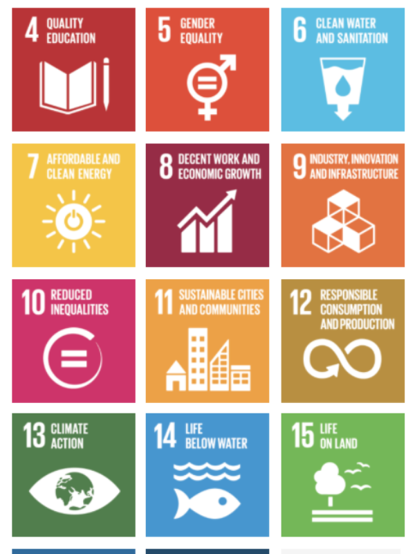 Projects Aligned with the UN SDGs