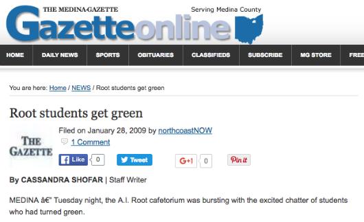 1 28 2009 The Gazette Medina Ohio