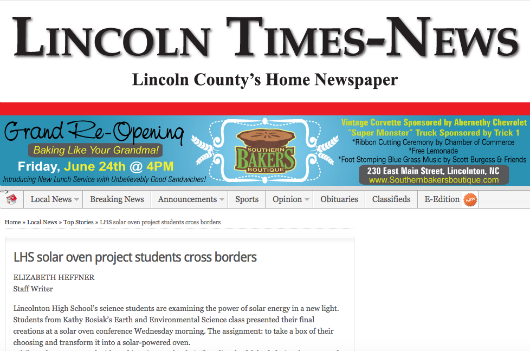 1 9 2015 Lincoln Times News