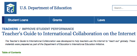 11 2000 Us Department Of Educations International Education Initiative
