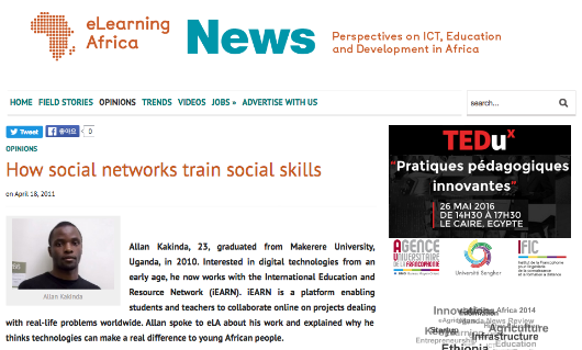 4 18 2011 E Learning Africa News Portal