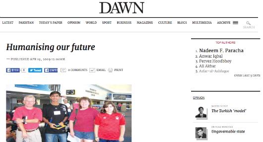 4 19 2009 Dawn Com
