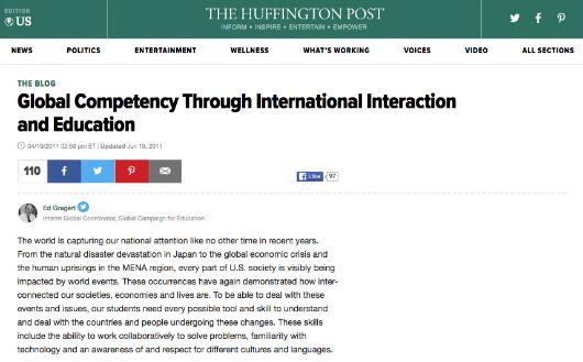 4 19 2011 Huffington Post