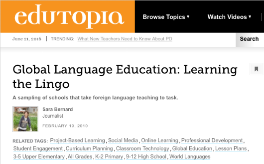 4 2010 Edutopia Global Language