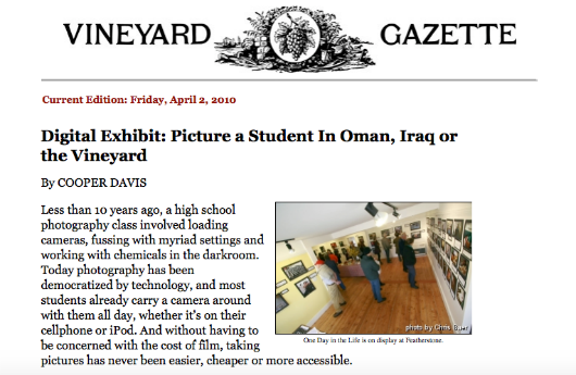 4 2010 Vineyard Gazette