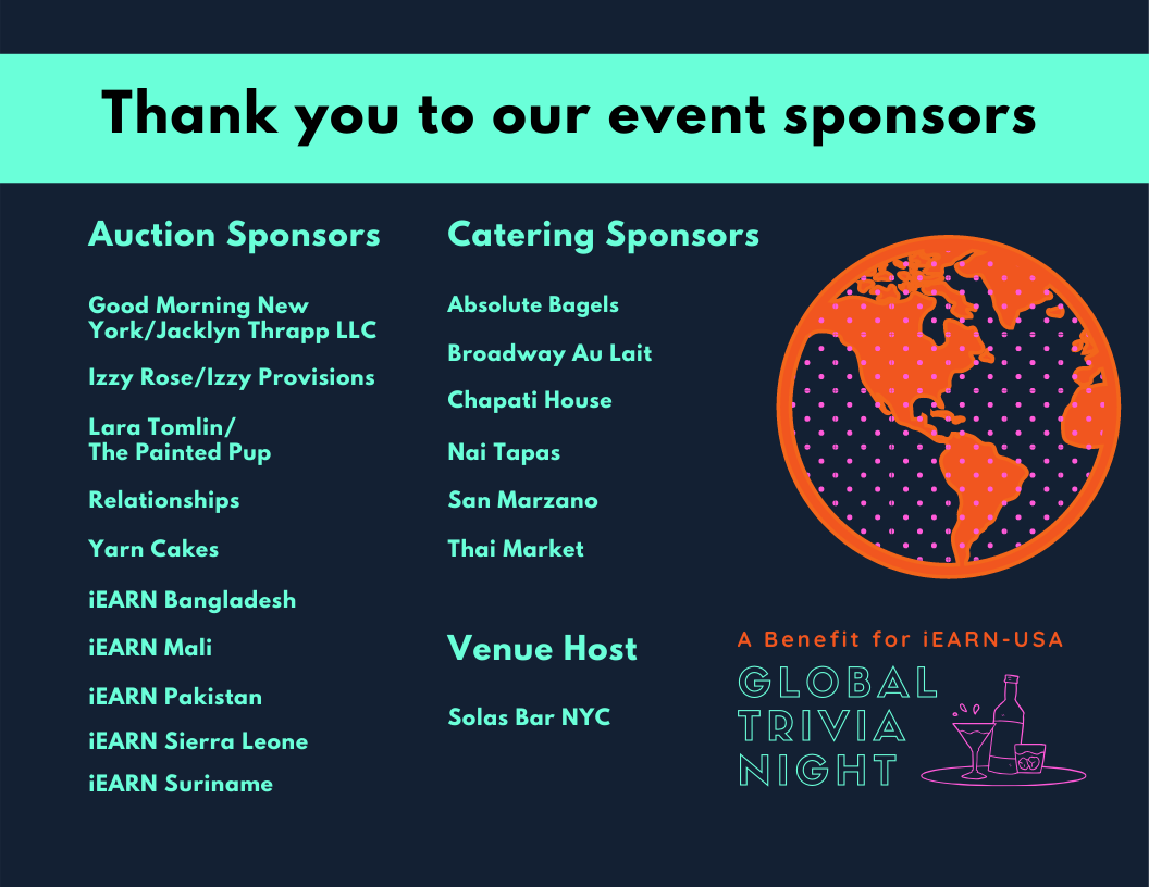 Copy Of Global Trivia Night Thank You To Our Sponsors 1