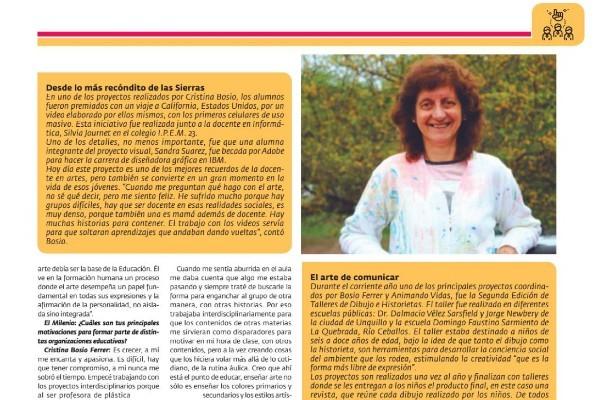 Cristina Bosio Ferrar Featured In Argentinian Magazine 2