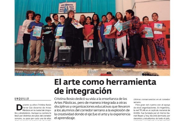 Cristina Bosio Ferrar Featured In Argentinian Magazine