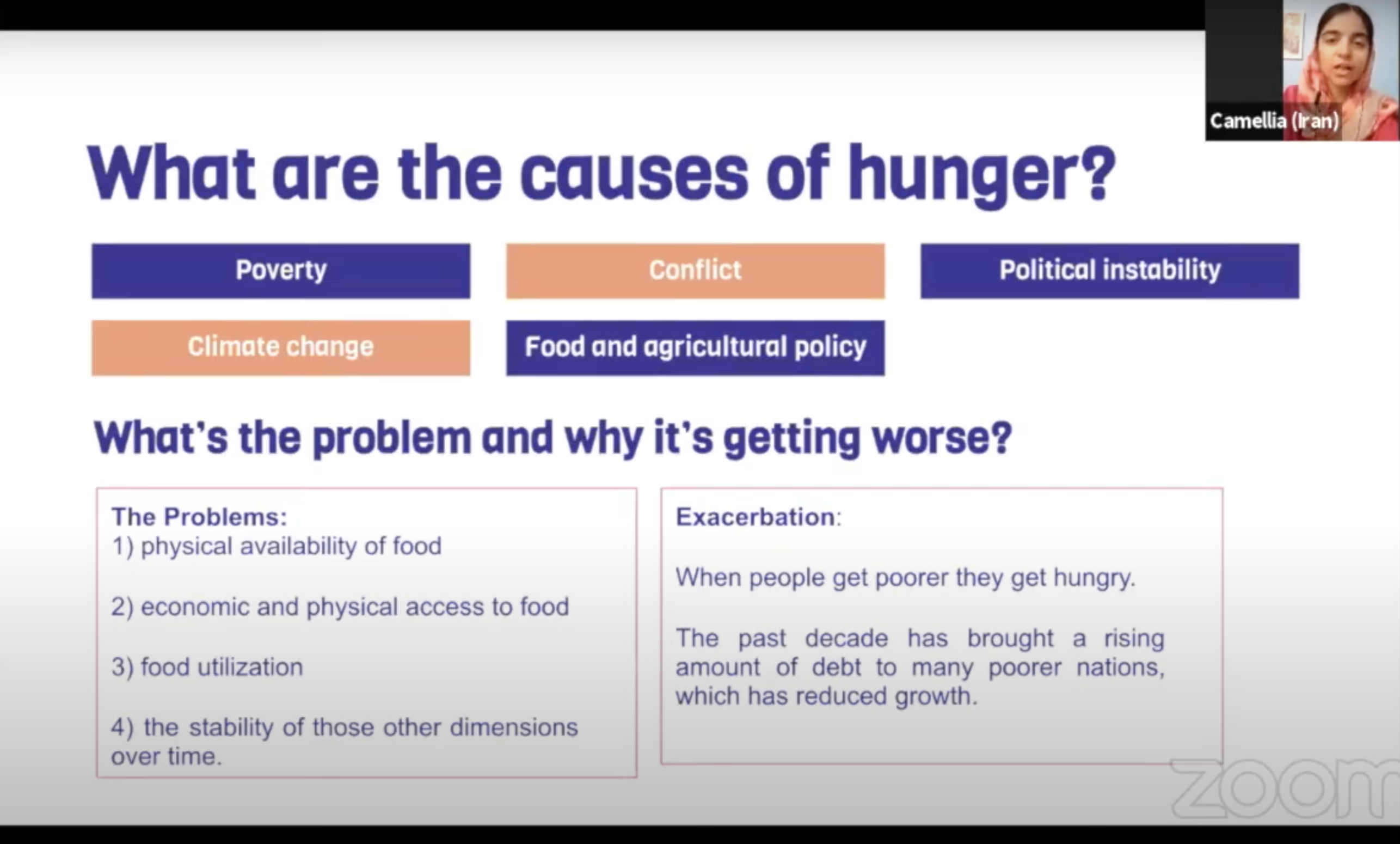 Finding Solutions To Hunger 2
