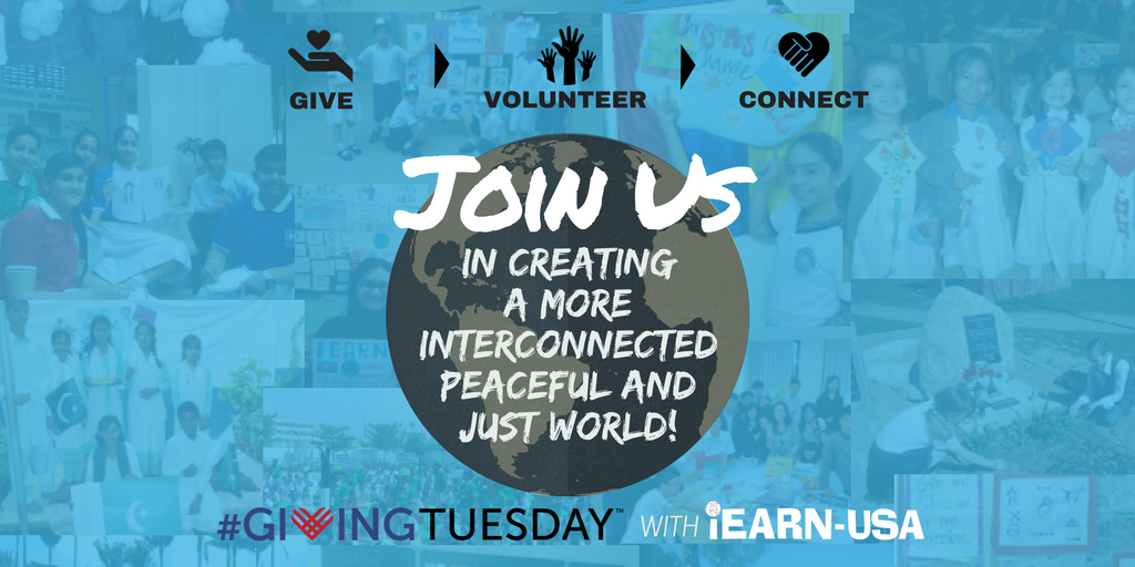 iEARN-USA Celebrates Giving Tuesday