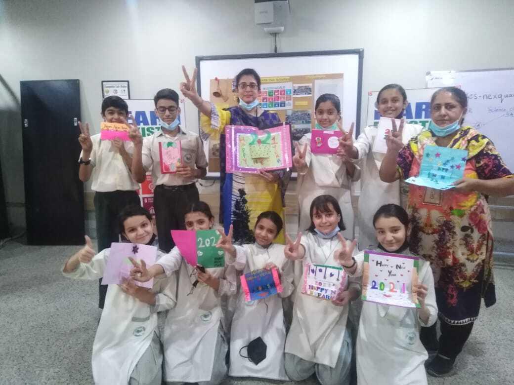 Holiday Card Exchange Pakistan Class 1 Image 11