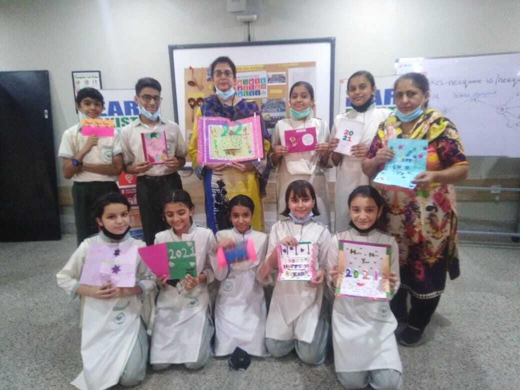 Holiday Card Exchange Pakistan Class 1 Image 12