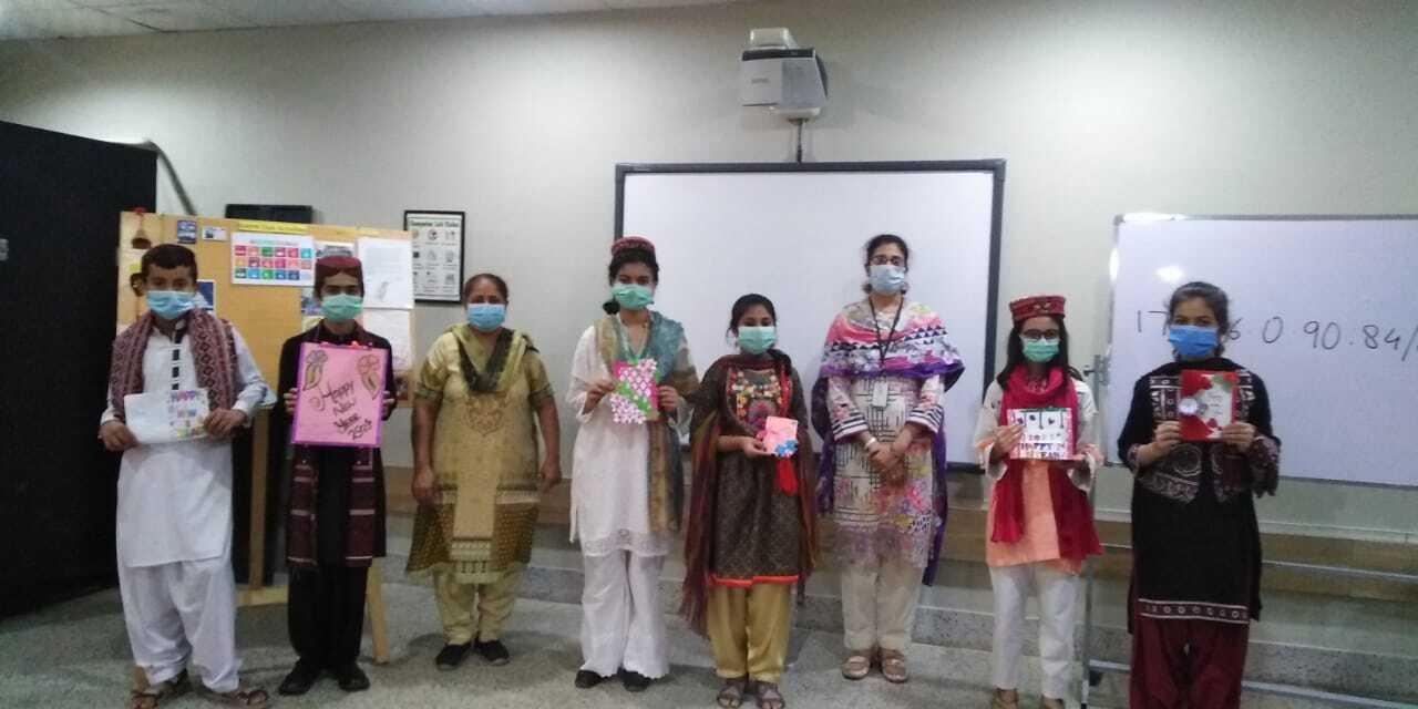 Holiday Card Exchange Pakistan Class 1 Image 6