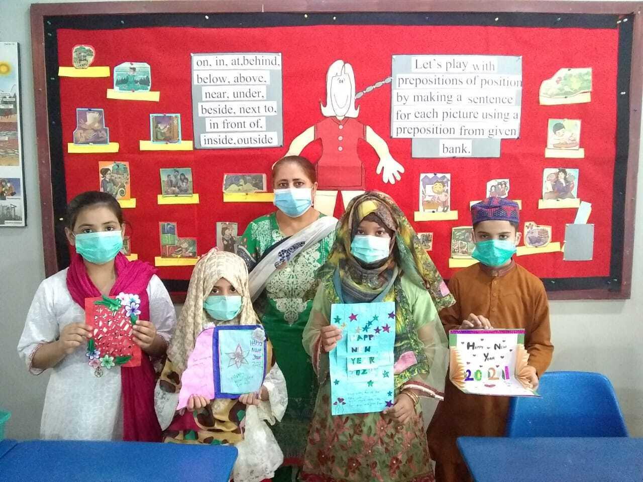 Holiday Card Exchange Pakistan Class 1 Image 9