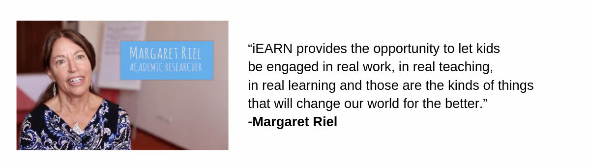 Margaret Riel Photo and Quote