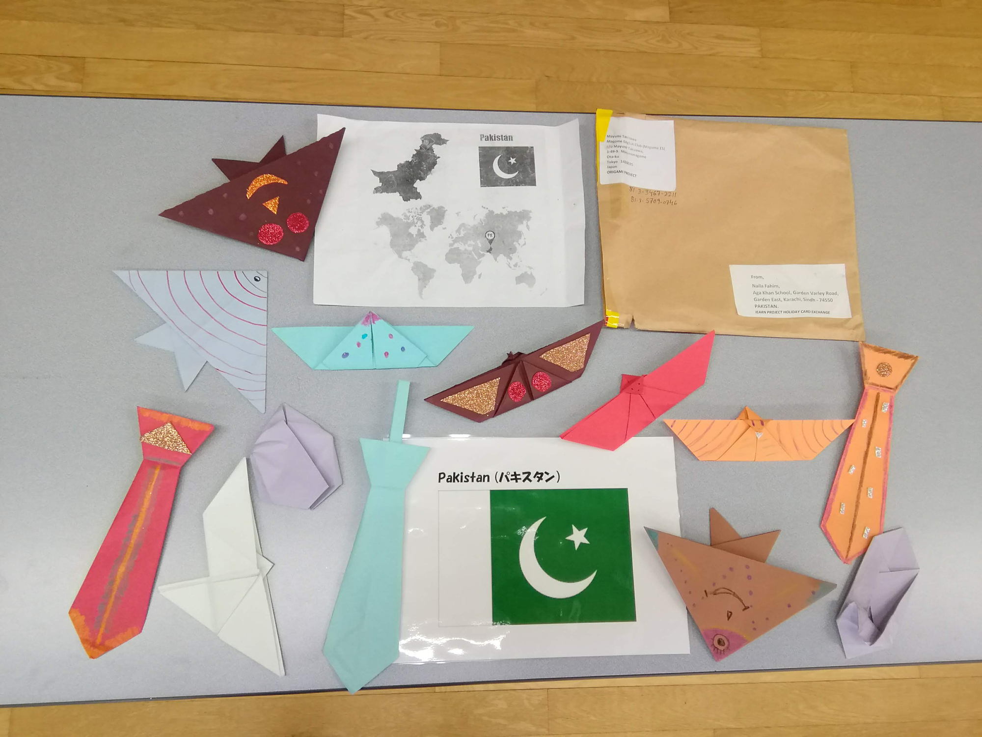 Origami Products From Pakistan Displayed At Japan
