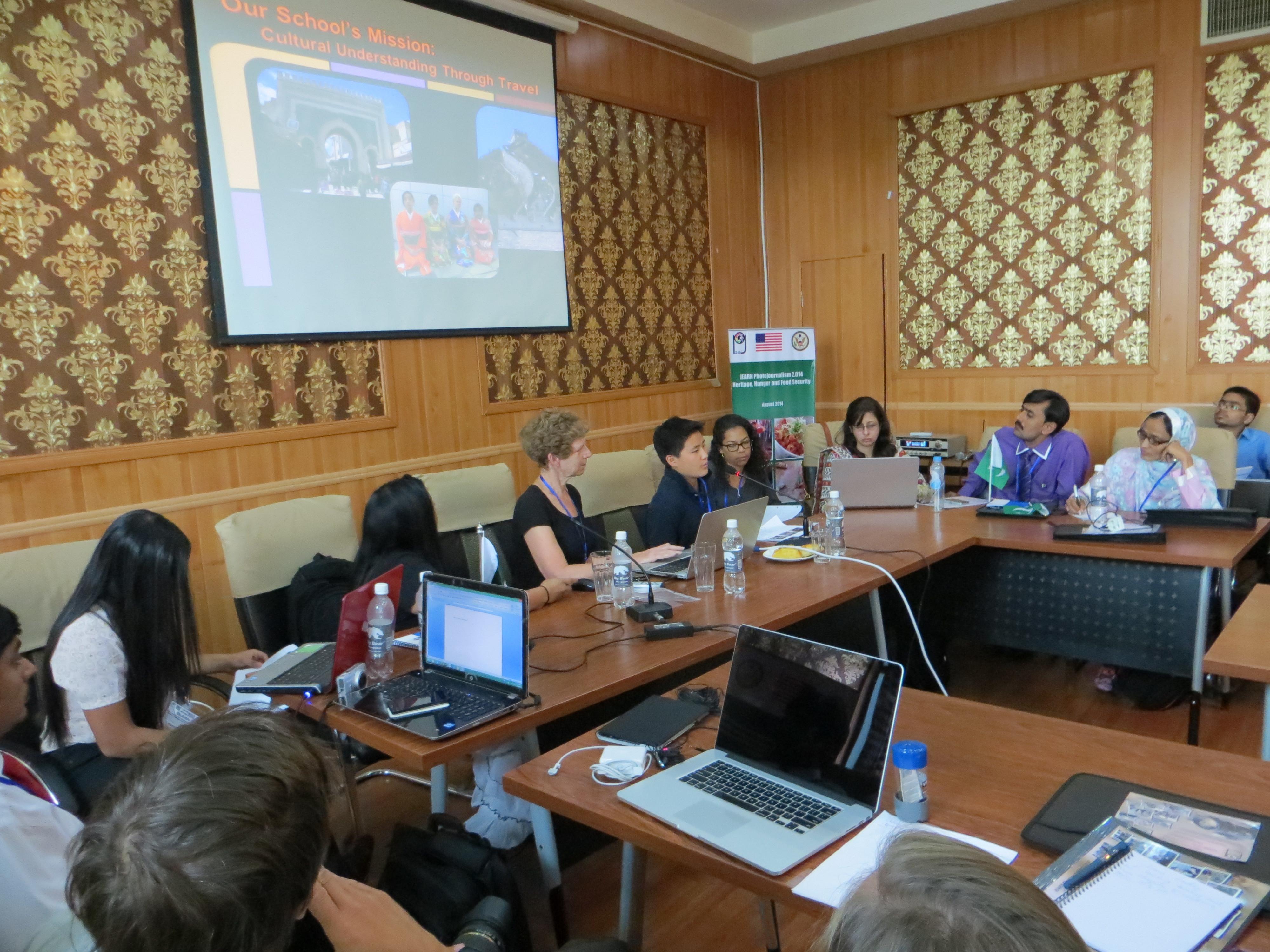 Photjournalism 2 014 Tajikistan Group Presentations