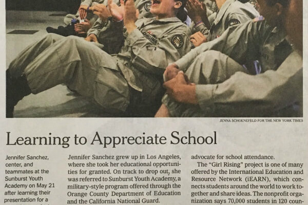 iEARN NY Times June 7 2019
