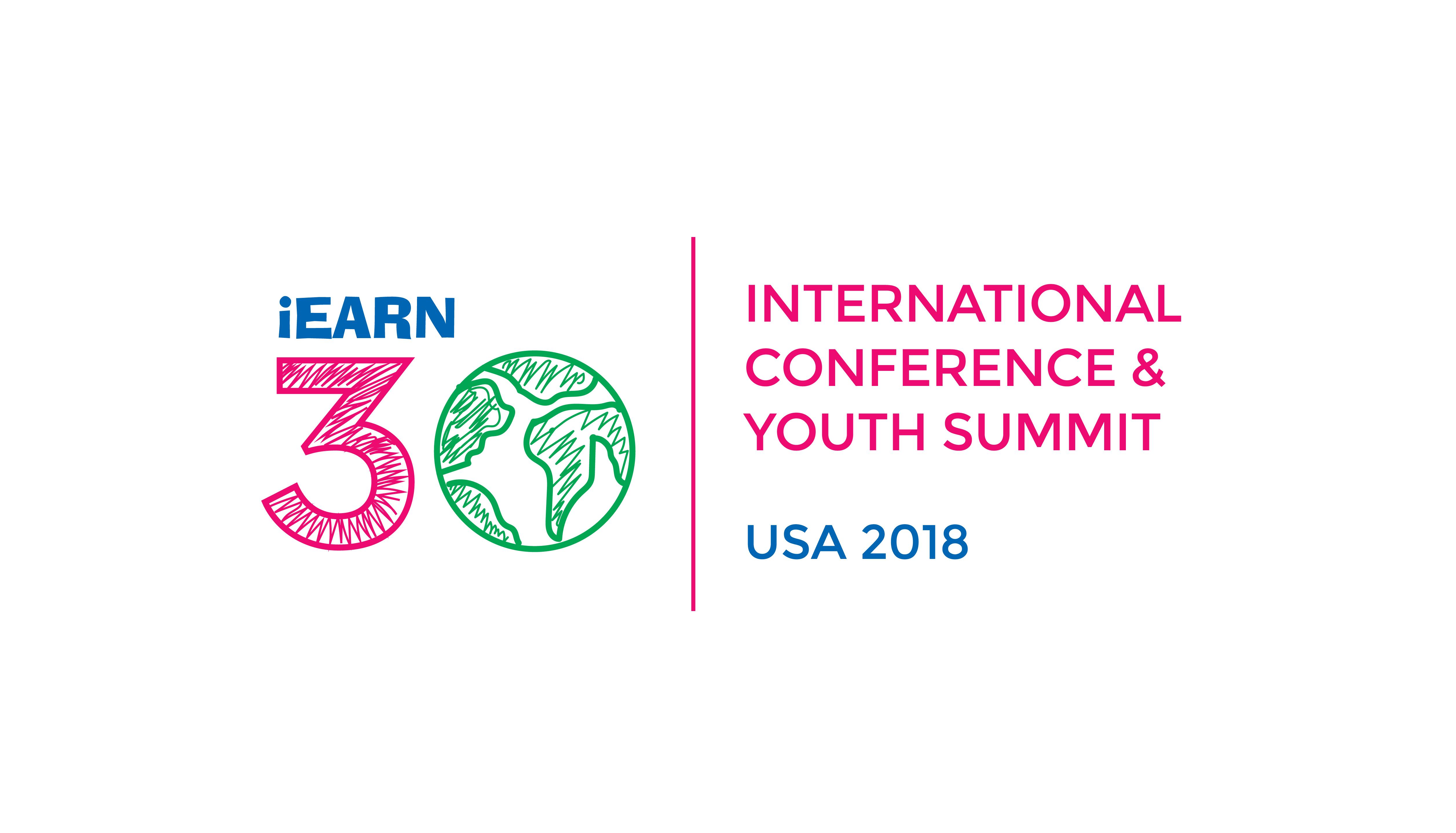 iEARN-USA 2018 Conference Logo