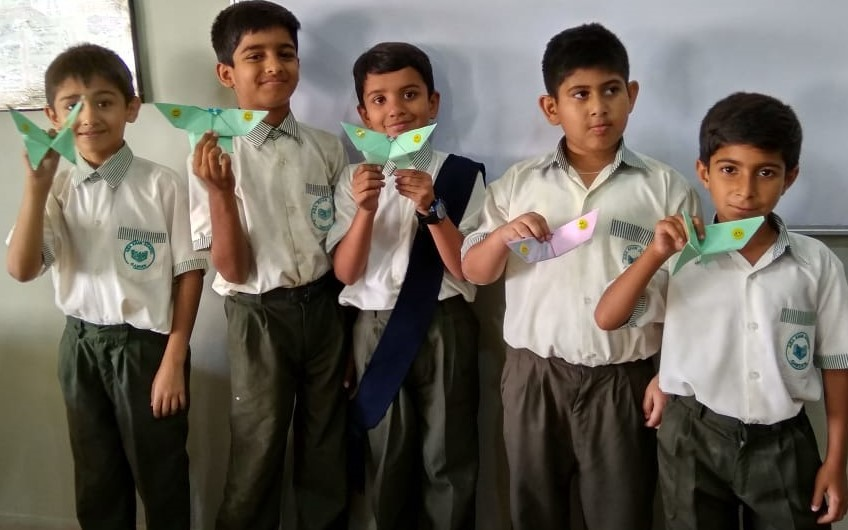 Origami Products By Students